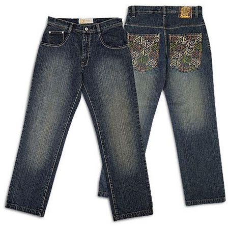 Ugly-Ass Embroidered Jeans for Men