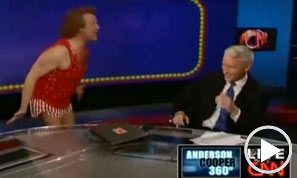 Richard Simmons on Anderson Cooper 360