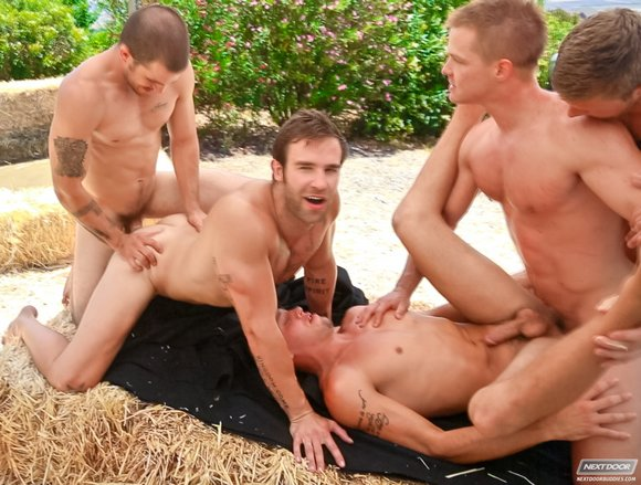 Free porn movie gay men orgie