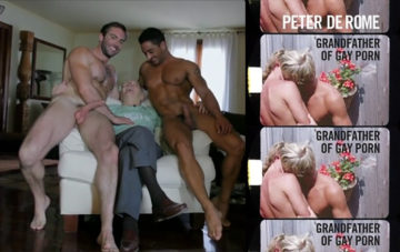 peter de rome grandfather gay porn