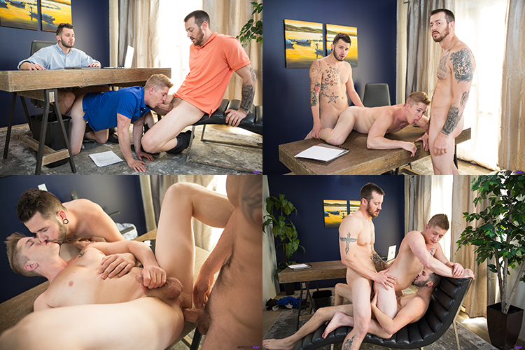 mark long johnny hill fucks chris blades bareback