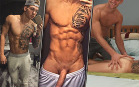 "#CelebrityCock: Brandon ""The Bulge"" Myers & His Lost Gay Videos"