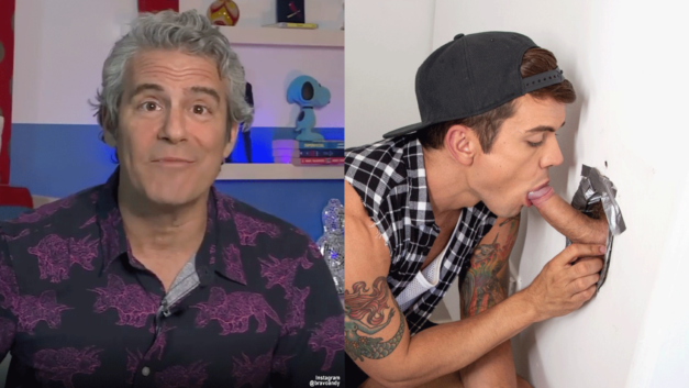 Andy Cohen Wants To Talk About Glory Holes